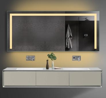 zrkadlo tsl180 70 s led osvetlen m a z suvkou. Black Bedroom Furniture Sets. Home Design Ideas